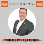 Mentor of the week: Abimael Padilla Negron!